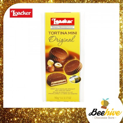 Loacker Tortina Mini Original Chocolate Wafer 90g