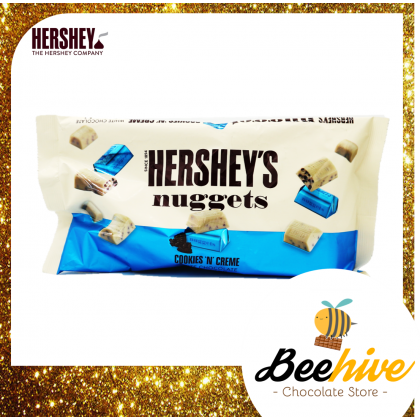 Hershey's Nuggets Cookies & Creme Chocolate 344g