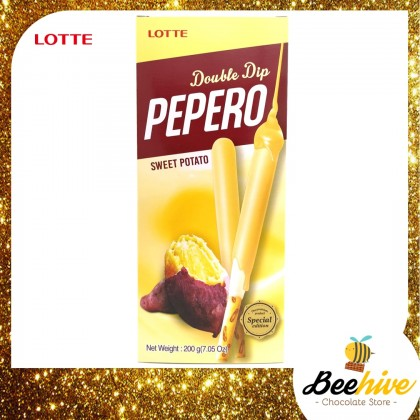 Pepero Double Dip Sweet Potato Stick Biscuit 200g [Special Edition]