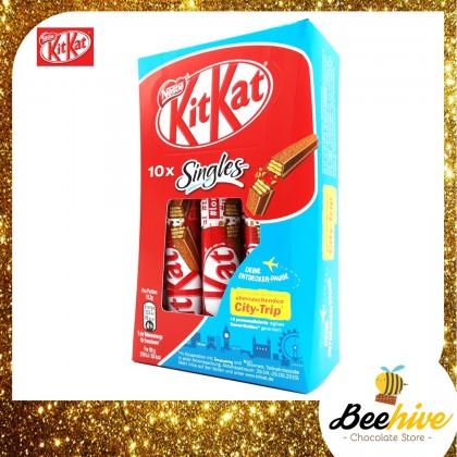 Kit Kat Singles Wafer Chocolate 10x15g