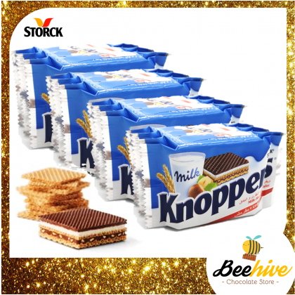 Storck Knoppers Crispy Wafer Chocolate 12x25g