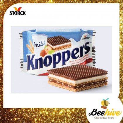 Storck Knoppers Crispy Wafer Chocolate 6x25g