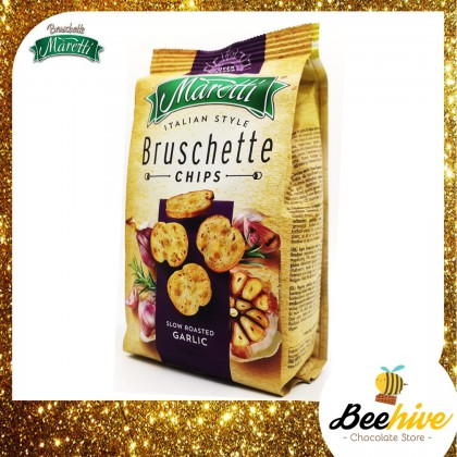 Maretti Bruschete Chips Slow Roasted Garlic 70g