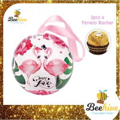 Beehive Flamingo Chocolate Gift Tin