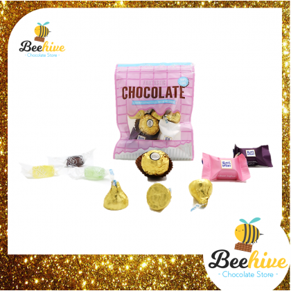 Beehive Assorted Chocolate Gift Pack (Pink)