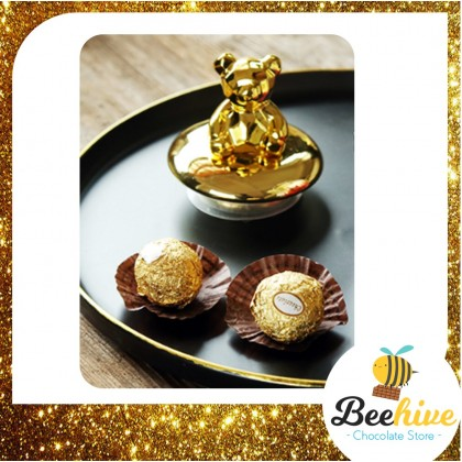 Beehive Andes Chocolate Bear Gift Bottle