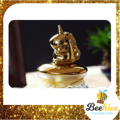Beehive Ritter Sport Chocolate Unicorn Gift Bottle