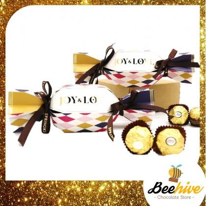 Beehive Christmas Chocolate Cracker Gift Set