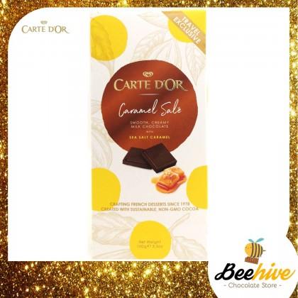 Carte Dor Chocolate Sea Salt Caramel 100g