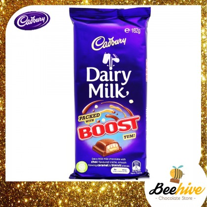 Cadbury Dairy Milk Boost Chocolate 162g