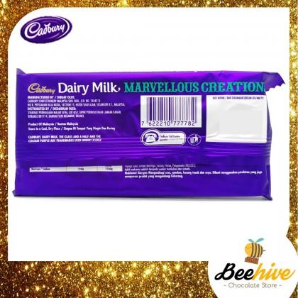 Cadbury Dairy Milk Marvellous Creations Peanut Toffee Cookie Chocolate Bar 2x150g