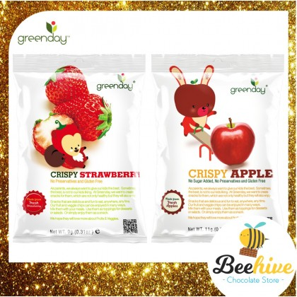 Greenday Crispy Fruit Healthy Snack for Kids 9-11g