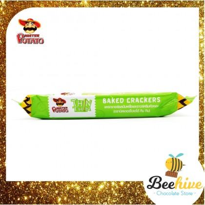Mister Potato Thin Thin Sour Cream n Onion Baked Crackers 4 x 22g [Promo]