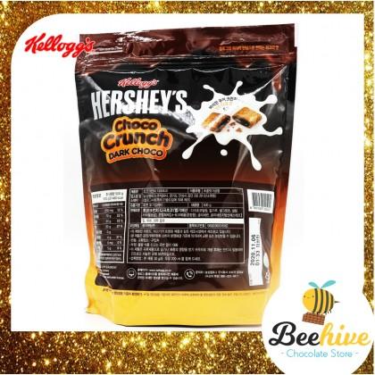 Hersheys Kelloggs Choco Crunch Dark Choco Cereal Snack 500g