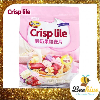 Crisp Lile Yogurt Bites Granola 420g Crisp Lile Yogurt Bites Granola 420g 优品康 (Exp: 8 Feb 2021)