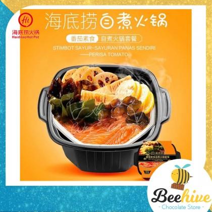 Haidilao Tomato Self Heating Vegetables Hot Pot 425g 海底捞番茄素食自煮火锅套餐 (Exp: 7 Feb 2021)