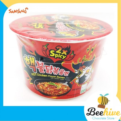 Samyang Double Spicy Hot Chicken Ramen Big Bowl 105g