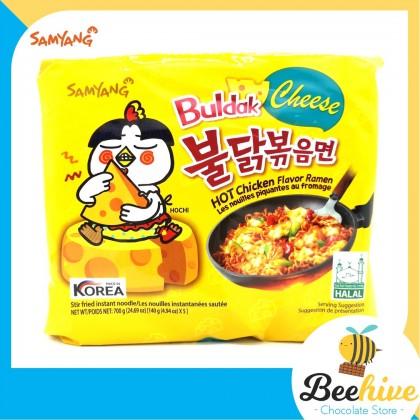 Samyang Cheese Hot Chicken Ramen Multipack 5x140g