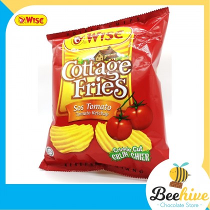 Wise Cottage Fries Potato Chips Tomato Ketchup 65g