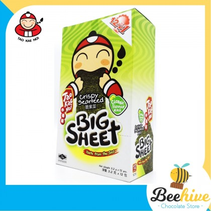 Tao Kae Noi Big Sheet Seaweed Original 12x3.2g