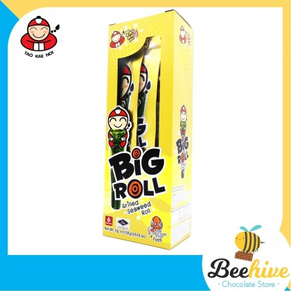 Tao Kae Noi Big Roll Grilled Seaweed Spicy Squid 6x3g