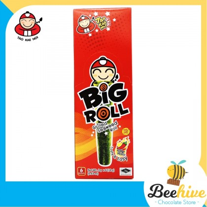 Tao Kae Noi Big Roll Grilled Seaweed Spicy 6x3g