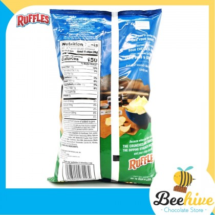 Ruffles Potato Chips Sour Cream & Onion 184g