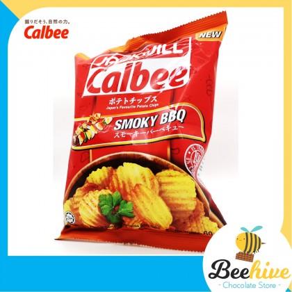 Jack N Jill Calbee Smoky Bbq Potato Chips 60g