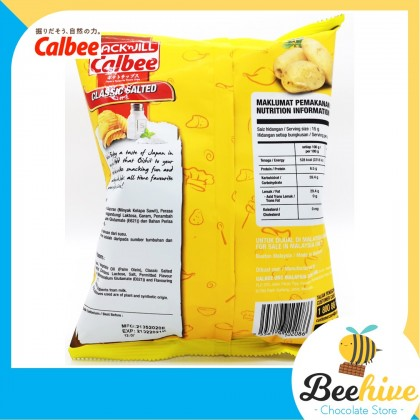 Jack N Jill Calbee Classic Salted Potato Chips 60g