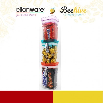 Mix and Match Chocolates with ADD-ON Elianware Airtight Mini Food Container Deal