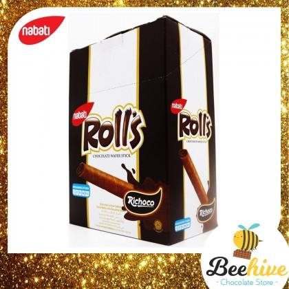 Nabati Roll's Chocolate Wafer Stick 20x8g