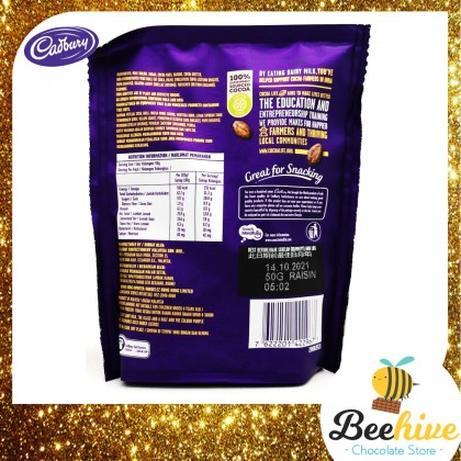 Cadbury Dairy Milk Bites Jolly Raisin 50g