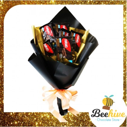 Beehive Chocolate Nabati Wafer Gift for Him Premium Bouquet Gift Set