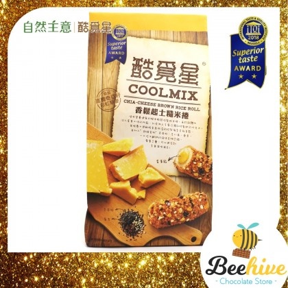 Coolmix Chia Cheese Brown Rice Roll 120g