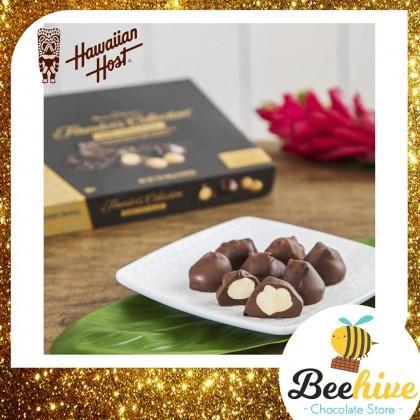 Hawaiian Host Dark Chocolate with Macadamia 198g 18pcs