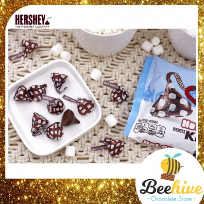 Hersheys Kisses Hot Cocoa Milk Chocolate with Marshmallow Flavored Creme 226g