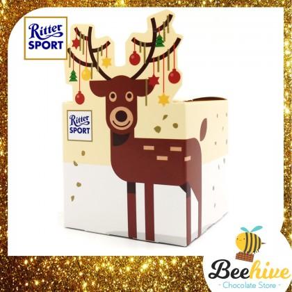 Ritter Sport Mini Reindeer Chocolates 83g 5pcs
