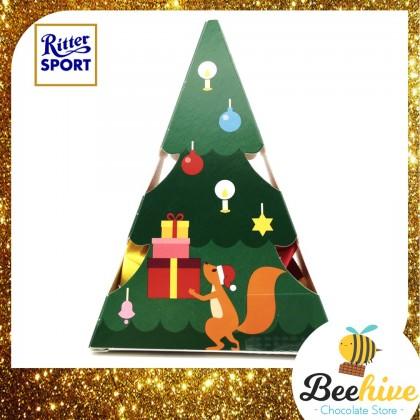 Ritter Sport Christmas Tree Choco Cubes 53g [7pcs]
