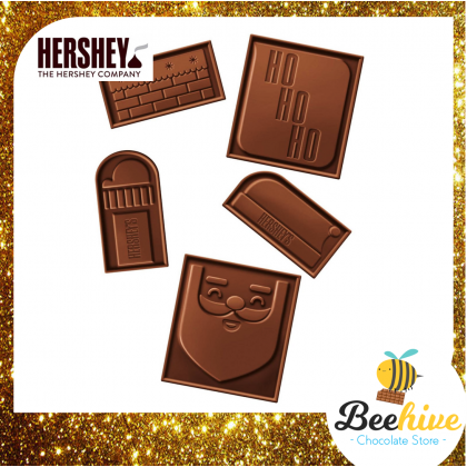 Hersheys Milk Chocolate Build-a-Santa 113g