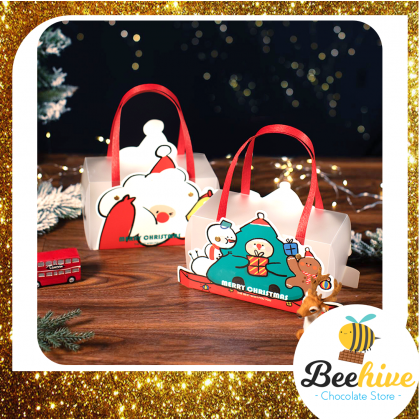 Beehive Chocolate Christmas Cookie & Candy Gift Set