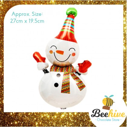 Christmas Snowman Balloon