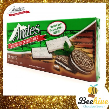 Andes Chocolate Mint Cookie Crunch Thins 132g