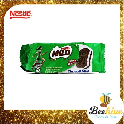 Nestle Milo Truck Van Chocolate Cookies Biscuit 816g (2 x 408g)