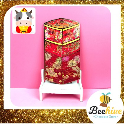 CNY Cute Premium Red Packets (4pcs)