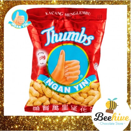 Cap Tangan Ngan Yin Thumbs Roasted Groundnuts 120g