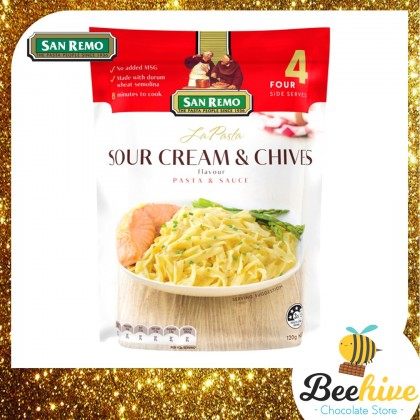 San Remo La Pasta Sour Cream & Chives 120g