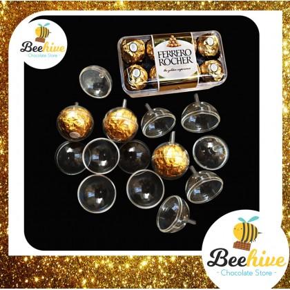 Ferrero Rocher Transparent Hard Chocolate Case