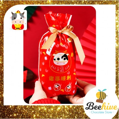 Year of the Ox CNY Chinese New Year Gift Bag [1pc]