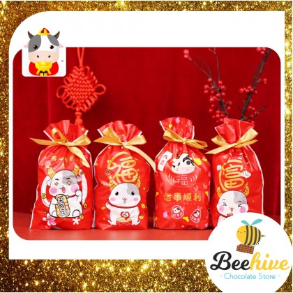 Moo-velous CNY Chocolate Red Dates Gift Bag