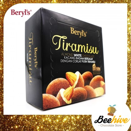 Beryl's Tiramisu Almond White Chocolate 65g